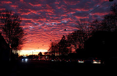Himmel (Markus Rödder (ZoomLab)) Tags: himmel weihnachten engel cloudporn münster muenster weselerstrasse sonnenuntergang sonne outdoor sky sundown picoftheday xmas winter herbst natur