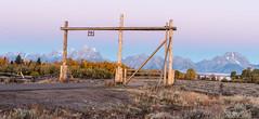Sunrise at MH ranch (greggohanian) Tags: grandtetons tetons sunrise ranch mhranch mtmoran foliage autumn