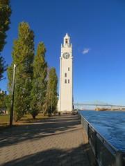 Tour de l'horloge - vieux port (GEO_Matt) Tags: montreal quebec kanada canada biosphere halloween pumpkins cubes habour tour de urlaub holiday october rain weather lhorloge