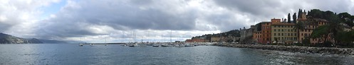 Panorama of Santa Margherita Ligure and its port, 27.10.2012.