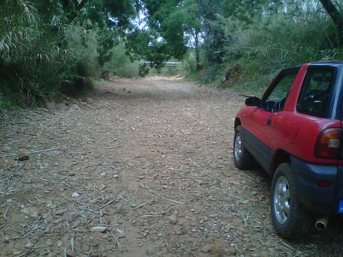 Ribeira de Algibre - leito seco em Abril