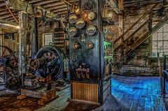 The Works (Thomas Dwyer) Tags: ludwig mill grandrapids ohio machine shop old vintage antique nikon thomasdwyer building historic controls tools miamianderiecanal maumee river
