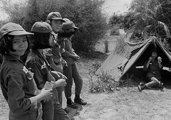 Vietnam War 1968 - Vietnamese Military Training Camp for Women - N qun nhn VNCH ti Trung tm Hun Luyn Quang Trung (manhhai) Tags: adults asia asianhistoricalevent asians battle campsite fatigues females group historicevent military militarycamp militarypersonnel militarytraining northamericanhistoricalevent people quantrung republicofvietnam soldier southvietnam southvietnamesearmedforces southeastasia southeastasians tent training unitedstateshistoricalevent vietnam vietnamwar19591975 vietnamese vietnamesehistoricalevent war women youngadultwoman youngadults