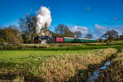 31806 in the Sunshine (Alastair J Lofthouse LRPS) Tags: swanagerailway dorset november railway 2016 swanage timelineevents timeline 31806