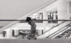 Curious (Wenchieh Yang) Tags: blackwhitephotos children kids welovetaiwan iphone iphone365 taiwan tainan wow trip urban city