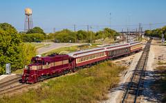 Grapevine Passenger Train (trnchsr1984) Tags: fwwr grapevine passenger tourist