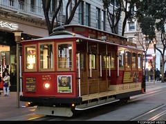 San Francisco Municipal Railway #25 (vb5215's Transportation Gallery) Tags: muni san francisco municipal railway 1890 ferries cliff house cable car