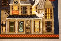 November 14 2016, Monday (interchangeableparts) Tags: worksinprogress needlepoint mfboo kirkbradley hauntedhouse halloweenstitching