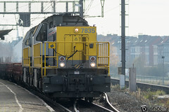 Gand-Gent-Dampoort Infrabel 7835 (DiL Photos) Tags: infrabel croissrail sncb am96 bombardier alstom siemens vectron traxx class66 desiro am08 type 13 fret hkm cargo