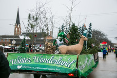 2016 UWGB Holiday Parade Float