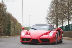 Ferrari Enzo (Gaetan | www.carbonphoto.fr) Tags: ferrari enzo supercar hypercar car coche auto automotive fast speed exotic luxury great incredible worldcars carbonphoto rallye de paris cavallino rosso scuderia
