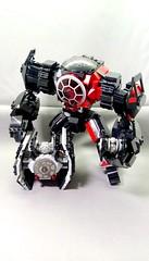 TIE FAMILY (danielhuang0616) Tags: lego moc star wars tie fighter advance walker