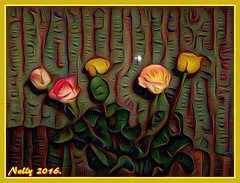 *Rose...happy family!* (MONKEY50) Tags: rose art pentaxart digital flowers nature colors psp musictomyeyes awardtree shockofthenew artdigital netartii flickraward autofocus soe hypothetical greenscene contactgroups exquisiteflowers pentaxflickraward