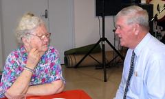 Chat with the mayor - Home Library Service Christmas Morning Tea