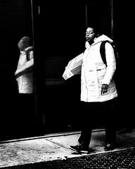 Reflecting (alhawley) Tags: americana bw abstract blackandwhite candid fujifilmxt10 fujinonxf35mmf2rwr grain gritty highcontrast lowkey minimal minimalist monochrome naturallight noire reflection shadow street streetphotography