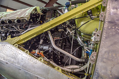 Merlin Detail (Chris Usrey) Tags: douglas ga airport p82 twin mustang restoration aviation flying