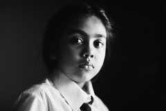 Our ICHI (N A Y E E M) Tags: basma kalam daughter portrait light today afternoon bedroom home rabiarahmanlane chittagong bangladesh availablelight naturallight indoors uniform schooldress ichi