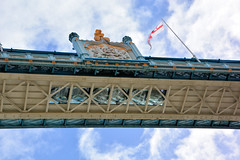 London's Tower Bridge (Jungle Jack Movements) Tags: london tower bridge bascule suspension uk united kingdom great britain england thames river city southwark gb what i wanted see traffice hms belfast pedestrian view viewing platform walk drive ride union jack flag st george british holiday holidays