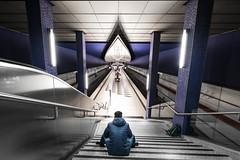 Sitting Bull (matthiasstiefel) Tags: underground metro ubahn stadtkind hasenbergl mnchen munich bavaria subway