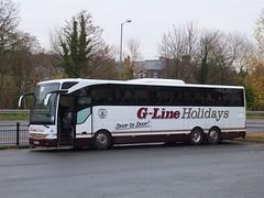 G-Line BF65HTZ Matlock (Guy Arab UF) Tags: gline holidays st annes bf65htz mercedes benz tourismo coach bus matlock derbyshire buses