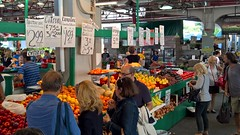 Montreal (heytampa) Tags: montreal jeantalonmarket marketplace fruitstand