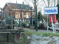 Helsluis (de.rotterdammer) Tags: kolksluis dordrecht zuidholland nederland nl groene helsluis helsloot beneden merwede hollandse biesbosch