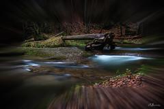 Eistobel (Ronny Gäbler) Tags: wasser landschaft langzeitbelichtung licht wald wasserfall herbst bäume baum baumstamm laub