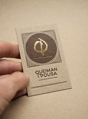 Queiman e Pousa (El Calotipo) Tags: businesscards letterpress stamping gold design cardboard printing print tarjetas oro
