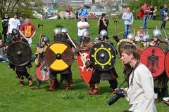 Rkawka 2014 (Jacek P.) Tags: fight knights krak walka moud kopiec krakoff rekawka wojowie