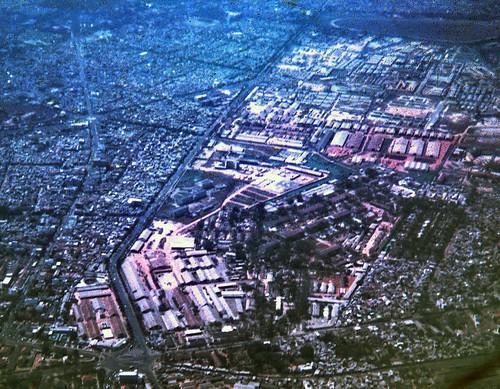 SAIGON AERIAL VIEW 1968 - Đường Trần Quốc Toản. Photo by Ron Golding