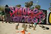 2014 Day 138 - American Graffiti (Legal) (Ian Gratton) Tags: california colour graffiti losangeles paint artist unitedstates venicebeach graffitipit