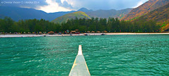 On The Way To Paradise (Bisdak Explorer Photography) Tags: blue beach nature paradise cove philippines beaches zambales anawangin