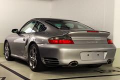 911 996 Turbo S (Petrolhead Team) Tags: park museum germany europe stuttgart 911 gray turbo porsche cinza alemanha 996 estacionamento