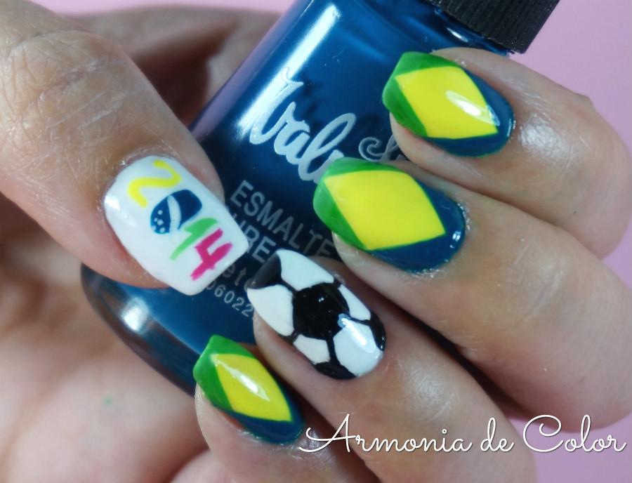 Nail art mundial brasil5