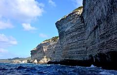 Au pied des falaises (Diegojack) Tags: mer vacances corse paysages rochers falaises 2014