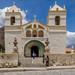 Die historische Kirche von Maca