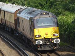 67005 1Y44 Cheriton to London Victoria (train_photos) Tags: cheriton britishpullman vsoe londonvictoria class67 67005 jt42hwhs 1y44