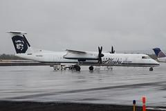 Alaska (Horizon Air) Dash 8 N430QX (Josh Kaiser) Tags: alaska horizon dash8 q400 n430qx