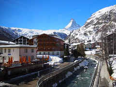 City center of Zermatt!