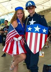 SDCC Comic Con 2014 Cosplay, Captain America