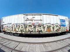 NARCO (UTap0ut) Tags: california art cali train graffiti paint rip rail socal cal graff freight narko utapout