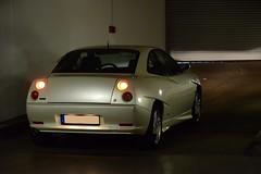 Coupe in 2014 (v6rev) Tags: auto white car couple i5 fiat automotive 1999 turbo wit weiss bianco sportscar automobil machina kfz perlato 20v 20vt