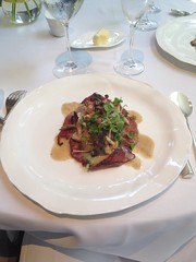 Sauted veal scallopine, Jean Georges restaurant!