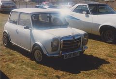 Mini Mercedes KOV 56P (ukdaykev) Tags: car austin mercedes classiccar mini mercedesbenz morris stratford stratforduponavon austinmini avonpark avonparkraceway avonparkracewaystratforduponavon kov56p
