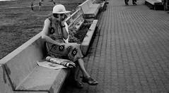 #699 (gilderstern) Tags: street portrait people urban blackandwhite italy monochrome face noir fuji noiretblanc candid liguria award x passion et blanc santostefanoalmare streetpassionaward