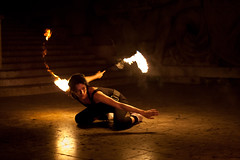 Playing with Fire (philipp.hansmann) Tags: street travel streetart paris france art digital french fire nikon europe artist circus extreme capital performance streetlife adventure dslr performer stunt acrobatic d700