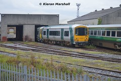 2753 at Inchicore, 19/7/14 (hurricanemk1c) Tags: irish train gm rail railway trains railcar railtour railways caf irishrail generalmotors 2014 inchicore bubblecar 2753 emd 071 078 iarnród éireann irrs iarnródéireann class2700 irishrailwayrecordsociety 071railtour irrsrailtour 0920connollywaterford
