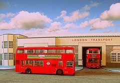 Hornchurch Titans (kingsway john) Tags: scale model 176 kingsway models transport leyland titan rd hornchurch bus london diorama londontransportmodel oo gauge miniature