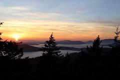 Sunset from Mount Eerie 8/8/14 (MacKenzie Richmond) Tags: sunset mountain landscape whidbeyisland mounteerie