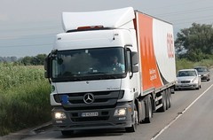 BG-MB ACTROS MPIII L-PIMK Ltd (arnaudov_stoyan) Tags: truck mercedes mp3 bulgaria ltd bg lkw pimk actros